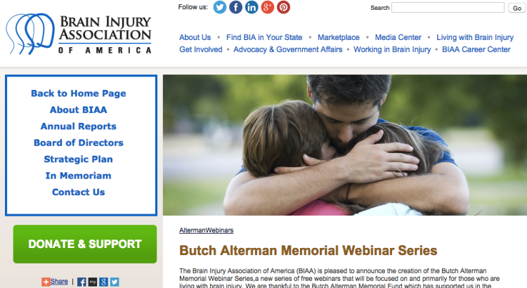 Bruce Alterman Memorial Webinar Series